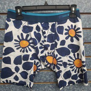 Stance Blue Sun Blue The Del Mar Fitted Boxer  M